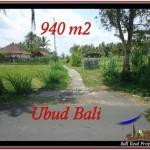 JUAL TANAH MURAH di UBUD BALI Untuk INVESTASI TJUB531
