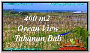 JUAL TANAH MURAH di TABANAN BALI 450 m2 View Laut, Gunung dan sawah