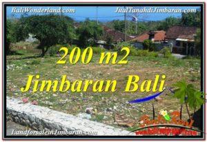 JUAL MURAH TANAH di JIMBARAN 200 m2 Dekat Pantai Pandawa
